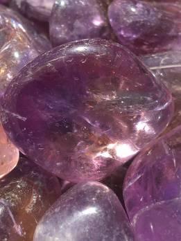 Ametrine Tumbled Stone (Trystine)